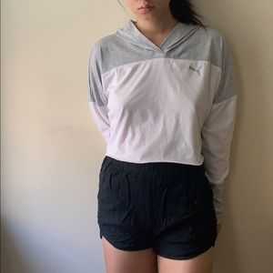 Puma women's cropped hoodie